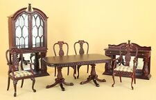 "Dollhouse Miniature ""MARTINIQUE"" DINING ROOM  2970-MH-SET  DIRECT FROM BESPAQ"