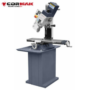 CORMAK Bohr-Fräsmaschine HK25 VARIO Bohrmaschine Fräse m. Z-Säule neigbar BASIS