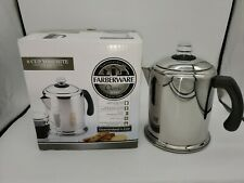 Farberware Stovetop Coffee Percolator Stainless Steel Yosemite 8 Cup New (Other)