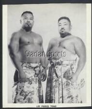 Vintage Les Freres Togo Press Photo   Pro Wrestling   Lanza