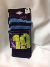 KENTWOOL 19th Hole Collection Stripe Sock Navy/Blue, SM