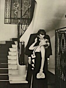 COUPLE LOVE STAIRS Helmut Newton Special Collection Photolitho Archival Mat