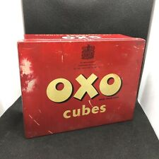 More details for vintage oxo cube tin, likely 1950s (lf1)