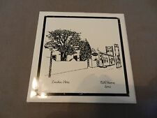 Landon Store New Mexico Decorative Ceramic Tile or Trivet by Pat R. Humme