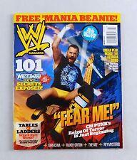 CM Punk March 2011 WrestleMania Wrestling Magazine Raw WWE WWF