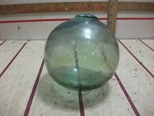 New listing Antique Japanese Large Glass Fishing Float Buoy Bal 4-1/2
