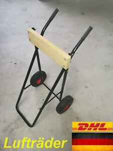 Motorwagen,Motortrolley,Transportwagen,Außenborderwagen bis 60 Kg mit Lufträder