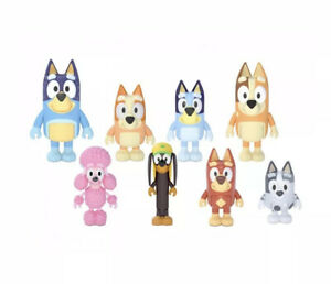"Bluey's Family and Friends 2.5"" Figures - 8 Pack"