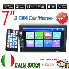 7 2 DIN Bluetooth Car Autoradio HD Touch Stereo AUX Audio Player Mp5 Fm/usb/sd