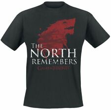 Game Of Thrones Haus Stark - The North Remembers Männer T-Shirt schwarz