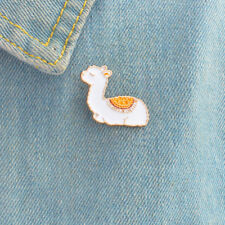 Alpaca Sheep Cute Animal Pins Hard Enamel Lapel Pins Brooches for Women Lovely--