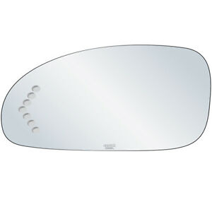 Driver Side Signal Mirror Replacement Glass Fits 03-05 Buick Lesabre Adhesive LH