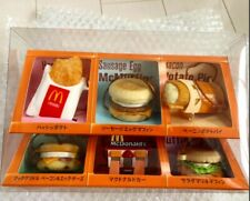 McDonald's Food Strap 6 pieces set USED Limited Edition Rare