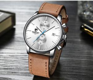 Chronograph MvMt Style CHEETAH Brand Fashion Casual Winter Quartz Leather Watch
