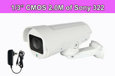 "4X ZOOM HD 1080P 1/3"" CMOS IP66 ONVIF PTZ CCTV IR Bullet IP Camera Home Security"