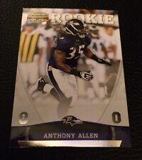 Anthony Allen Ravens  2011 Panini Gridiron Silver O Rookie #158  250/250