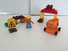RARE -Lego Duplo Bob The Builder - Dizzy & Bridge (3292) Complete