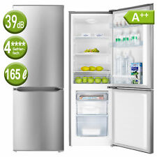 A++ Kühl Gefrierkombination Kühlschrank Inox Edelstahl Look freihstehend PKM NEU