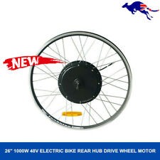 Electric Bicycle 48V 1000W High Speed Brushless Gear Hub Motor Ebike Rear Wheel