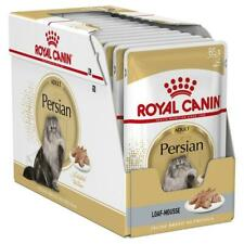 Royal Canin Persian Breed Gavy Wet Cat Food Adult, 1-12 Years - 12 x 85g Packets