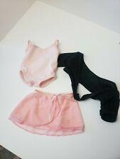 American Girl Dolls Ballerina Outfit Ballet Dance Pink Skirt Doll Clothes Leotar