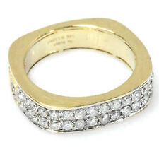 De Buman 10k Yellow Gold & White Diamond Men's Ring, Size 9.5 (G-H, SI1-SI2)