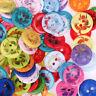 couleur des mixtes multi - purpose round le bouton de résine craft le plastique