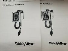 Lot Of 2 New Welch Allyn 767 Series Wall Blood Pressure Gauge 7670 01 Withcuff