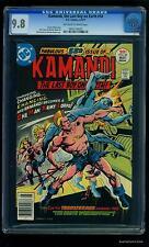 Kamandi #50 CGC NM/M 9.8 Tongie Farm Collection  DC Comics
