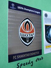Blasón shakhtar donetsk badge Champions League Update 2012 13 Panini Adrenalyn