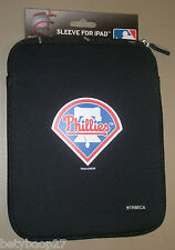 Philadelphia Phillies Black Red Blue Neoprene Sleeve Case for Apple iPad 1 2 3