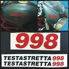 Ducati Monster 998 testastretta  - adesivi/adhesives/stickers/decal