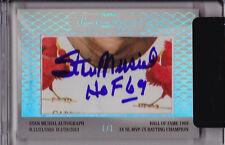 Stan Musial & Matt Holliday 2013 TriStar SignaCuts Dual Cut Auto 1/1 Autograph
