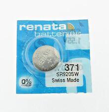 Renata SR920SW (371) Silver 1.55 V watch battery
