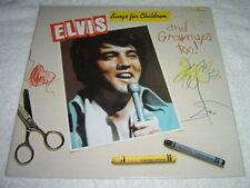 ELVIS PRESLEY Sings For Children LP NEW SEALED Made in Canada CEL1-2901