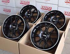 BBS CH-R schwarz 4 Felgen 8x18 Zoll / 5x100 / ET38 CH128 für VW Polo Typ 6R