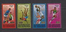 BURUNDI - 499a - 499d - MNH -1976 - MONTREAL OLYMPIC GAMES