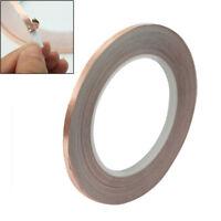 Durable Copper Foil Conductive 5mm x 30M EMI Shielding Tape Adhesive New x 1