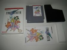 Final Fantasy VII NES Nintendo Complete in Box CIB