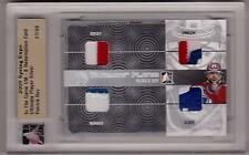 PATRICK ROY /09 ITG Ultimate Complete Package/9 Jersey Glove Number Emblem Patch