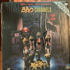 """Bad Channels - 12"""" Laserdisc Buy 6 for free shipping"""