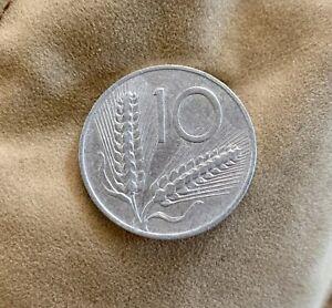 MONETA RARA DA 10 LIRE DEL 1953 REPUBBLICA ITALIANA