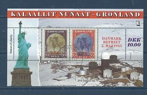 GREENLAND - 293-295 S/S'S - USED - FDC - 1995 - AMERICA SERIES