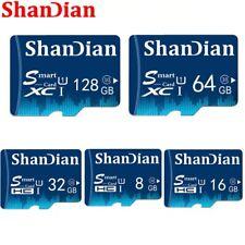SHANDIAN TF Card 32GB Class 10 Memory Card  Class 6 Smart SD Card TF Card Real