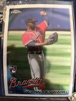 2010 Topps Chrome Baseball #174 Jason Heyward Rookie Card