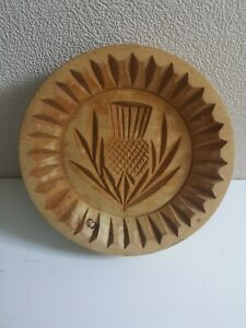 Wooden shortbread mould