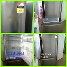 Panasonic 554L Bottom Mount Fridge - Silver (FACTROY SECOND) WE OPEN 7 DAYS