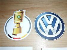 NEU DFB POKAL + VW Patch 2017/2018/2019 17/18/19 Logo Badge Matchworn Bayern BVB