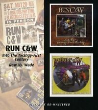 Run C & W ‎– Into The Twangy-First Century/Row vs. Wade (2009) CD NEW SPEEDYPOST