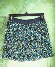 Peek Girls Large L 8 Kids Blue Green Sequin Embellished Bling Skirt Party Dressy